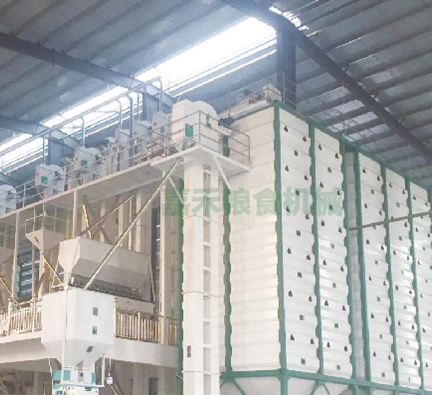 江西南城水龙米业有限公司300吨生产线