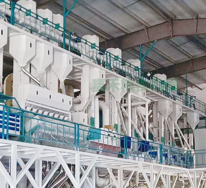 湖北广水市翔瑞粮贸有限公司200吨生产线