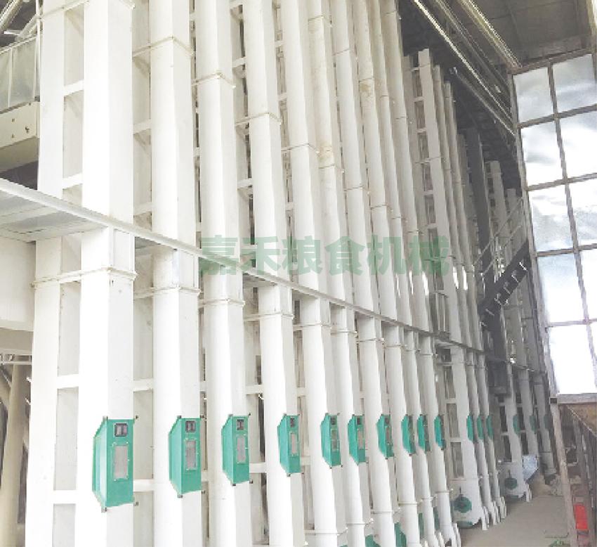 安徽霍邱金安米业有限公司200吨生产线