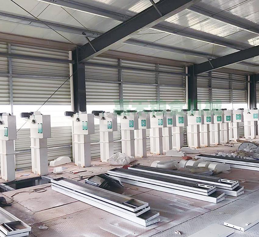 湖南省攸县荣幸米业有限公司150吨生产线