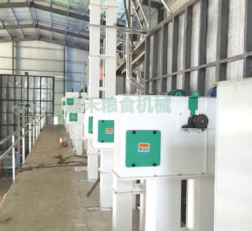 安徽霍邱兴发米业有限公司150吨生产线
